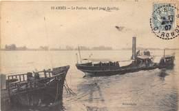 33-AMBES- LE PONTON- DEPART POUR PAUILLAC - France