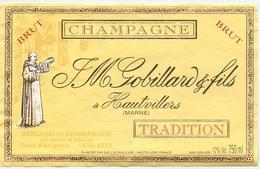 Etiket Etiquette - Vin - Wijn - Champagne - JM Gobillard & Fils - Hautvillers - Champagne