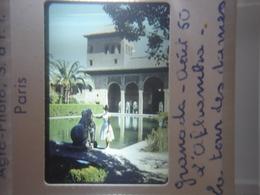 Ancienne Diapositive ESPAGNE Diapo Slide SPAIN Vintage Annees 60 - 70's Alhambra - Diapositives (slides)