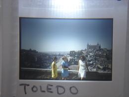 Ancienne Diapositive ESPAGNE Diapo Slide SPAIN Vintage Annees 60 - 70's Toledo Groupe - Diapositives (slides)