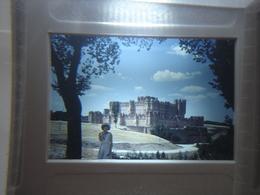 Ancienne Diapositive ESPAGNE Diapo Slide SPAIN Vintage Annees 60 - 70's Chateau - Diapositives (slides)