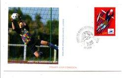 FDC 1997 FOOTBALL FRANCE 98 - ARRET DU GARDIEN - FDC