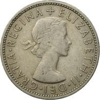 Monnaie, Grande-Bretagne, Elizabeth II, Florin, Two Shillings, 1965, TB+ - 1902-1971 : Monnaies Post-Victoriennes