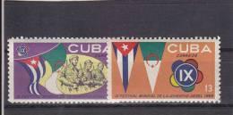 Cuba Nº 854 Al 855 - Cuba