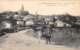 33-LA-SAUVE-MAJEURE- VUE PANORAMIQUE PRISE DE LA GARE - France