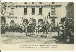 70 - VESOUL / RENTREE Du 11è CHASSEURS - REMISE DE LA FOURRAGERE Au 1er ESCADRON - Vesoul