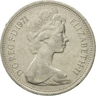 Monnaie, Grande-Bretagne, Elizabeth II, 5 New Pence, 1971, TB+, Copper-nickel - 1971-… : Monnaies Décimales