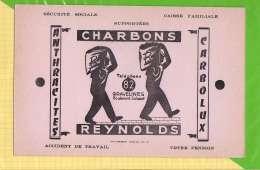 BUVARD & Blotting Paper : Charbons REYNOLDS Gravelines - Electricity & Gas