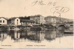 54 FROUARD  Le Port Et L'Abattoir - Frouard