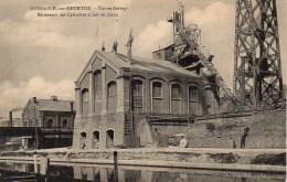 54 DOMBASLE-sur-MEURTHE  Usine Solvay  Bâtiments Des Cylindres à Lait De Chaux - Autres Communes