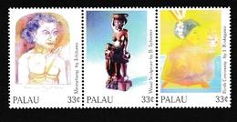 PalauXxNus Féminins - Peinture - SculptureY&T1605 à 1607 - Palau
