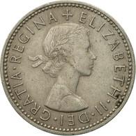 Monnaie, Grande-Bretagne, Elizabeth II, Shilling, 1963, TB+, Copper-nickel - 1902-1971 : Monnaies Post-Victoriennes