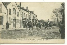 70 - VESOUL / RENTREE Du 11è CHASSEURS - L'ENTREE OFFICIELLE - Vesoul