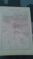 Affiche (dessin) - Carte Géographique - DEPARTEMENT DE CONSTANTINE - Manifesti