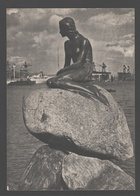 Kobenhavn - Den Lille Havfrue - 1956 - Photo Card - Denemarken