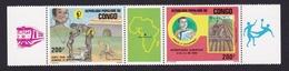 Congo - République Populaire1985XxSante Pour Tous - Jeunesse Et Développement - Vie LocaleY&TPA337a - Mint/hinged