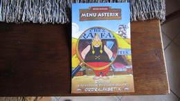 ASTERIX MENU BISTRO ROMAIN ORDRALFABETIX - Astérix