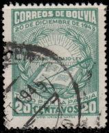 Bolivie 1944. ~ YT 272 -  Anniversaire Révolution 20/12/1943 - Bolivia