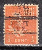 USA Precancel Vorausentwertung Preo, Locals Texas, Hunt 728 - Vereinigte Staaten