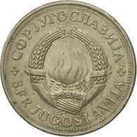 Monnaie, Yougoslavie, 2 Dinara, 1981, TB+, Copper-Nickel-Zinc, KM:57 - Joegoslavië