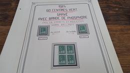 LOT 409710 TIMBRE DE FRANCE  NEUF**  LUXE BLOC - France