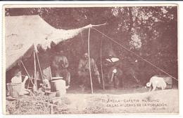 POSTAL   ARZILA  -MARRUECOS - CAFETINO MORUNO EN LAS AFUERAS DE LA POBLACION - Tanger