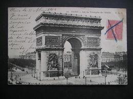 Paris-Arc De Triomphe De L'Etoile 1904 - Arc De Triomphe