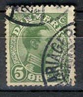 Danmark Danemark 1913 - Oblitéré Used - Y&T N° ?? Christian IX 5 Ore - Oblitérés