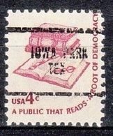 USA Precancel Vorausentwertung Preo, Locals Texas, Iowa Park 704 - Vereinigte Staaten