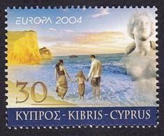 Chypre2004XxNus Féminins - Peinture - Statue - EuropaY&T1043 - 1044 - Ongebruikt