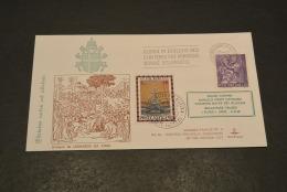 JP2280- KimCover - 1978- Joannes Paulus PP II - PW40 - Historic Documents Of Vatican City - Disegno Da Leonardo Da Vinci - Papas
