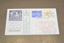 JP2288- KimCover - 1979- Joannes Paulus PP II - PW48 - Historic Documents Of Vatican City - Aerogramme - Santo Domingo - Popes