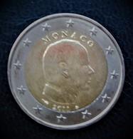 PRINCE ALBERT II DE MONACO 2 € - 2011 - PIECE NEUVE - Monaco