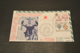 JP2364- KimCover - 1980- Joannes Paulus PP II - PW122- Historic Documents Of Vatican City - Brasilia - Brasil - Papi