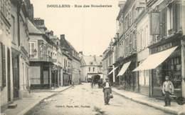 DOULLENS RUE DES BOUCHERIES - Doullens