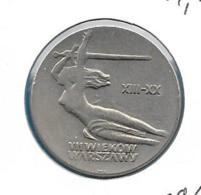 10 Zloty 1965 KM54 - Pologne