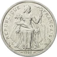 Monnaie, French Polynesia, 2 Francs, 1986, Paris, TTB, Aluminium, KM:10 - French Polynesia