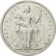 Monnaie, French Polynesia, 2 Francs, 1986, Paris, TTB, Aluminium, KM:10 - Polynésie Française