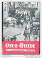 Oslo Guide - Norsk Sommerutgave 1974 - Bücher, Zeitschriften, Comics