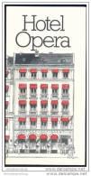 Dänemark - Copenhagen - Hotel Opera - Faltblatt Mit 11 Abbildungen - Dänemark