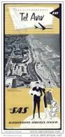 Israel - Tel Aviv - SAS City Portrait - Faltblatt - Asia & Vicino Oriente