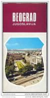 Serbien - Beograd 1974 - Faltblatt Mit 17 Abbildungen - Reiseführer