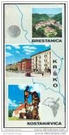 Slowenien 70er Jahre - Krsko - Brestanica - Kostanjevica - Faltblatt Mit 18 Abbildungen - Reiseführer
