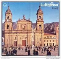 Kolumbien - Bogota 1970 - 16 Seiten Mit 16 Abbildungen - Lufthansa-Ausgabe - America