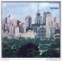 Brasilien - Sao Paulo 1970 - 16 Seiten Mit 12 Abbildungen - Herausgeber Deutsche Lufthansa - America