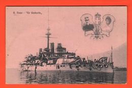Nave Re Umberto I° Cacciatorpediniere  Navir Schips Navi - Guerra