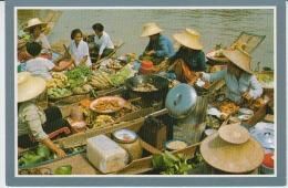 Thailand Floating Market Uncirculated Ayudthya - Thailand