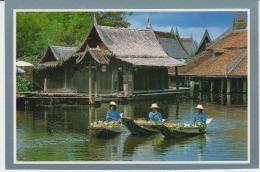 Thailand Floating Market Uncirculated Khlong - Thailand