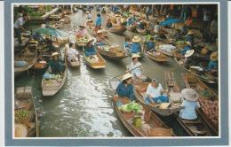 Thailand Floating Market Uncirculated Damnernsaduok Rajchaburi - Thailand