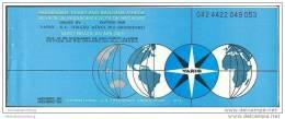 Varig - Viacao Aerea Rio-Grandense 1977 - Sao Paulo Brasilia Rio De Janeiro Zurich - Tickets